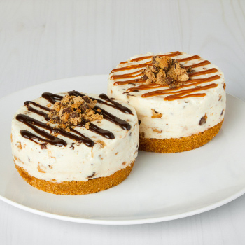 Individual Cheesecakes made with Chunky CHIPS AHOY! Cookie Pieces
